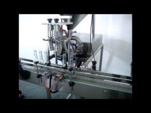 बिक्री के लिए स्वचालित डबल हेड्स लिक्विड हैंड वॉश फिलिंग मशीन