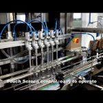 स्वचालित 6 सिर डिटर्जेंट क्लोरीन तरल भरने भराव मशीन लाइन वितरण