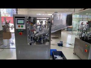 स्वचालित प्लास्टिक ट्यूब भरने के लिए सील मशीन हाथ क्रीम टूथपेस्ट