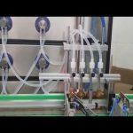 तरल पदार्थ के लिए ऑटो 10ml 30ml 60ml 100ml बोतल कॉस्मेटिक भरने की मशीन