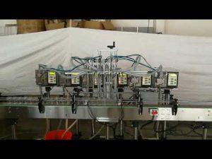छोटे स्वचालित गियर पंप बोतल साबुन तरल भरने की मशीन की कीमत