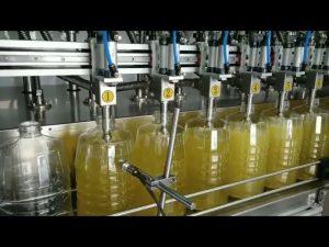 स्वचालित क्रमिक वृत्तों में सिकुड़नेवाला पंप चिकनाई तेल भरने की मशीन