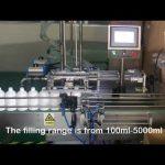 स्वचालित 2 नोजल सर्वो शैम्पू बोतल भरने की मशीन