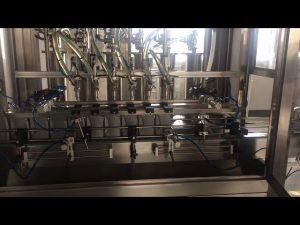 उच्च परिशुद्धता 5l मोटर तेल लुब्रिकेट बोतल भराव भरने की मशीन