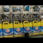 स्वत: 8 सिर कपड़े धोने का साबुन शैम्पू बोतल भरने की मशीन