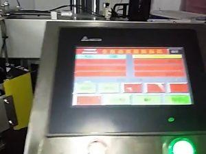 स्वचालित कम्प्यूटरीकृत लेबल प्रिंटिंग मशीन रोल स्टीकर प्लास्टिक बैग लेबल मशीन