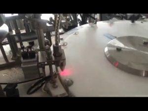 स्वचालित 30-50 bpm मिनी नेल पॉलिश की बोतल भरने की मशीन