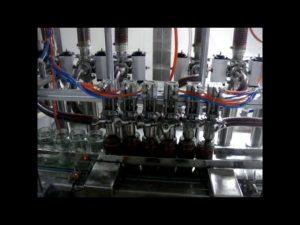 रैखिक स्वत: 4 सिर पिस्टन की बोतल चिपचिपा केचप सॉस तरल पैकिंग भरने की मशीन