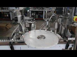स्वचालित आई ड्रॉप फिलिंग मशीन, छोटी बोतल फिलिंग और सीलिंग मशीन