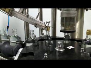 शराब की बोतल पेंच कैपिंग मशीन