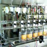 स्वचालित 5 लीटर पिस्टन तेल की बोतल भरने की मशीन