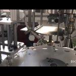 स्वचालित पीएलसी नियंत्रित तरल बोतल प्लगिंग और कैपिंग मशीन