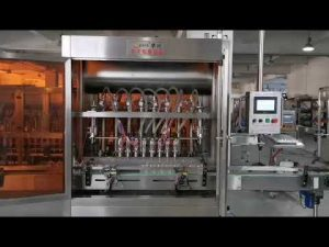 पूर्ण स्वचालित टमाटर सॉस सर्वो भरने की मशीन