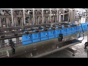 स्वचालित हाथ प्रक्षालक तरल साबुन भराव मशीन पिस्टन बोतल भरने की मशीन