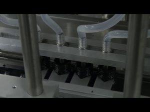 10ml-5l 6 सिर स्वचालित डेस्कटॉप सटीक तरल भरने की मशीन