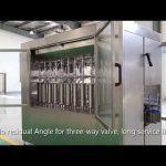 स्वचालित पिस्टन पालतू ग्लास बोतल तेल तरल भरने कैपिंग लेबलिंग मशीन लाइन
