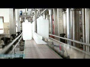 पूर्ण स्वचालित स्नेहक तेल भरने कैपिंग लेबलिंग मशीन