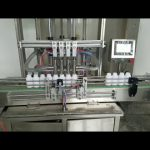 तरल साबुन, बॉडी लोशन, शैम्पू के लिए स्वचालित चिपचिपा तरल पेस्ट बोतल भरने की मशीन