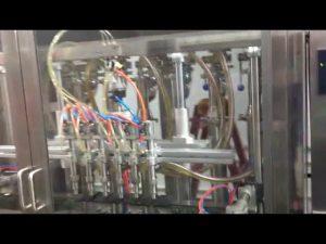 स्वचालित कांच की बोतलें जैतून का तेल भरने की मशीन