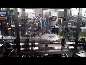स्वचालित नेल पॉलिश, आई ड्रॉप, मौखिक तरल बोतल भरने और कैपिंग मशीन