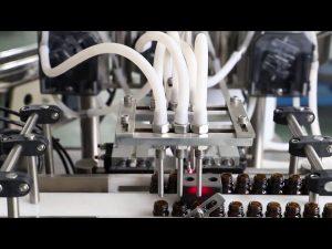 120 मिलीलीटर जैतून का तेल धोने भरने और कैपिंग मशीन