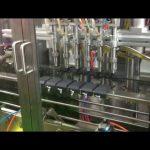 पीएलसी नियंत्रण स्वत: पिस्टन जैतून का तेल भरने भराव मशीन