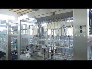कारखाने स्वचालित रैखिक चिपचिपा तरल खाद्य तेल की बोतल जार भरने की मशीन
