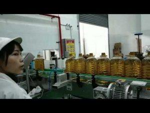 स्नेहन मोबिल मोटर हाइड्रोलिक कार पंप तेल की बोतल भरने उत्पादन लाइन मशीन