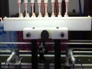 विरोधी संक्षारक प्लास्टिक की बोतल टॉयलेट क्लीनर ब्लीच एसिड भरने की मशीन