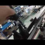 स्वचालित इनलाइन सीधे कांच की बोतल एल्यूमीनियम कैप रोप कैपिंग मशीन